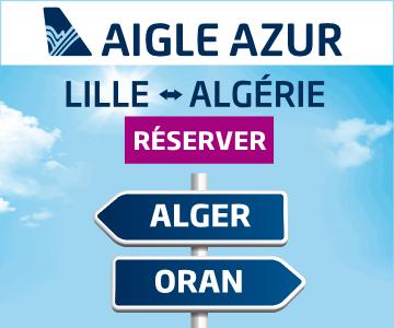 Aigle Azur - Lille Alger et Lille Oran