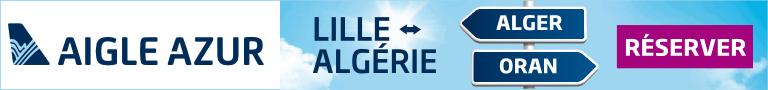Aigle Azur - Vols Lille-Alger