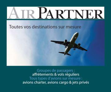 Airpartner - Location avion jet prive et air cargo - Leader mondial affretement