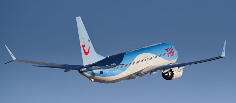 vols TUI Fly depuis Lille